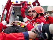 Doi morți și șapte răniți într-un accident pe DN 1 în care a fost implicat un microbuz
