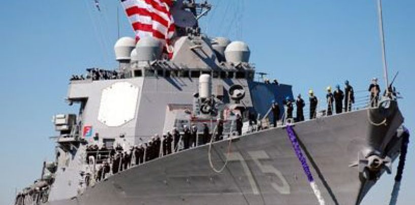 SUA vor trimite un crucisastor lansator de rachete în Marea Neagră