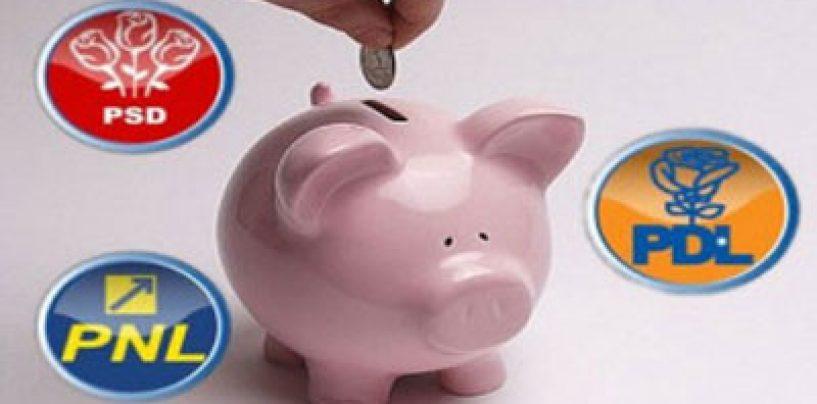 PSD are bani de campanie electorala pentru PE cat toate celelalte partide