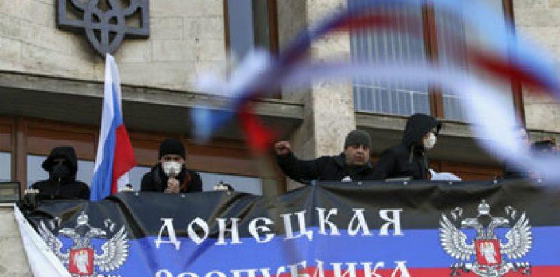 Ucraina: Republica autoproclamată de la Doneţk a început să-şi formeze o armată: Trebuie să luăm puterea în propriile mâini