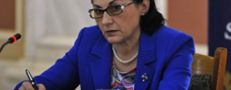 Decizie: Ecaterina Andronescu nu s-a aflat in stare de incompatibilitate