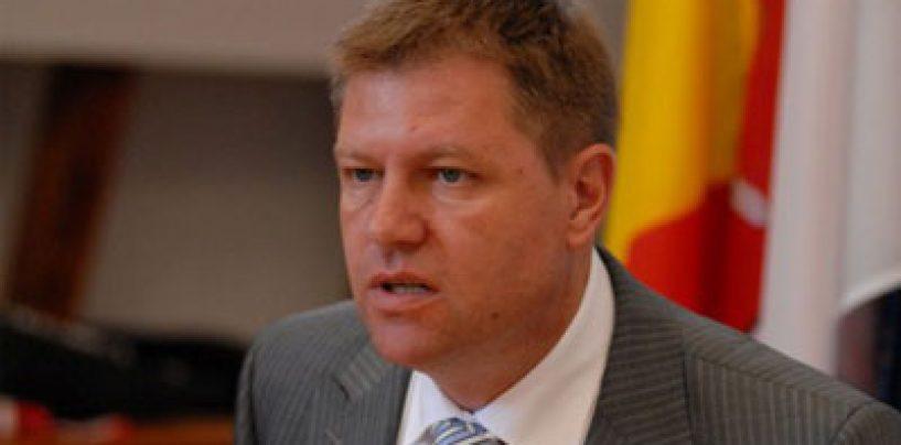 Vicepresedintele PNL, Klaus Iohannis: Dacă voi fi premier, voi avea o coaliţie care nu va include PSD. Este necesara coagularea dreptei