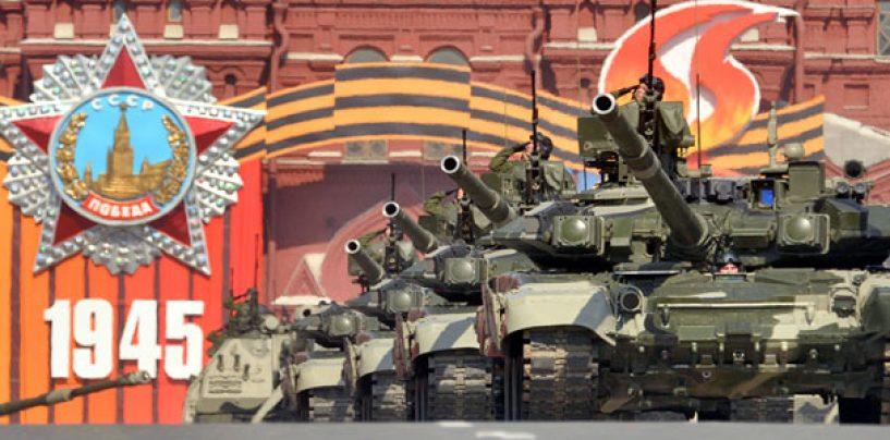 Ziua Victoriei, sarbatorita la Moscova: Paradă militară în plină criză în Ucraina. Vladimir Putin: 9 MAI este o sărbătoare când forța atotputernică a patriotismului triumfă