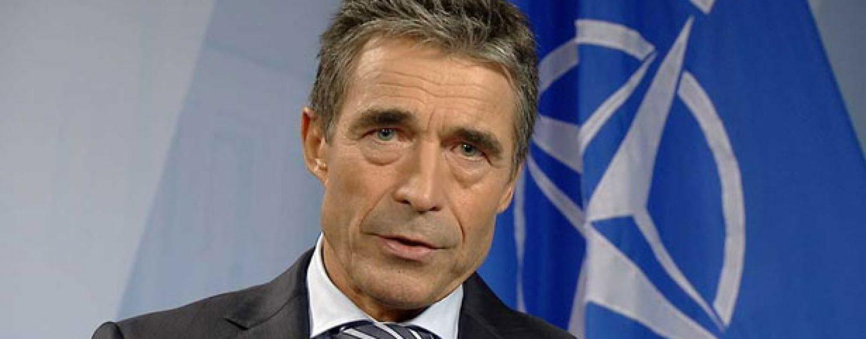 Secretarul general al NATO, Anders Fogh Rasmussen, la Bucuresti. Mesaj pentru Romania: Suntem pregătiţi să apărăm fiecare bucăţică a teritoriului NATO