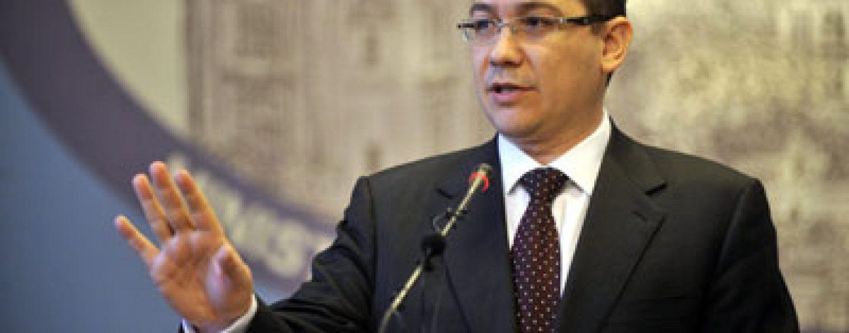 Victor Ponta: Palatul Victoria va deveni o fortareata cu prilejul vizitei vicepreşedintelui SUA