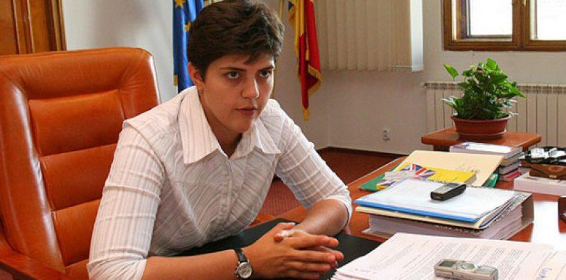 Laura Kovesi: Doar 5 procente din sumele dispuse a fi confiscate, au fost recuperate
