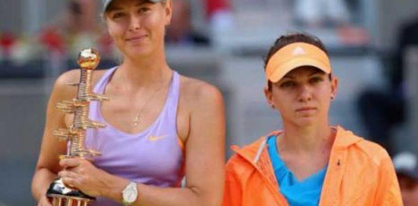 Şarapova, desemnată jucătoarea WTA a lunii mai. Halep – locul 1 în preferinţele fanilor