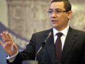 Victor Ponta sustine modificarea statutului incompatibilitatilor pentru senatori