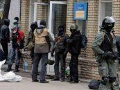 Ucraina: Separatistii pro-rusi au ocupat Banca Centrala din Donetsk