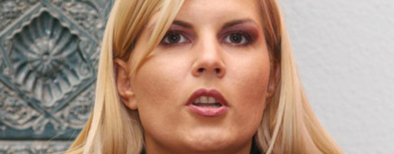 Elena Udrea: Eu am tacut vreo 2 saptamani si PMP disparuse deja