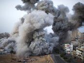 O scoala ONU din Fasia Gaza facuta una cu pamantul de tirurile israeliene