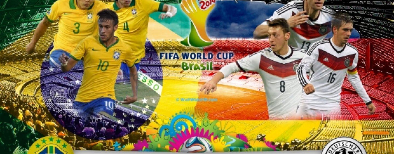 Germania a demolat Brazilia. O victorie istorica : 7-1. De la cel mai frumos vis la cel mai urat cosmar