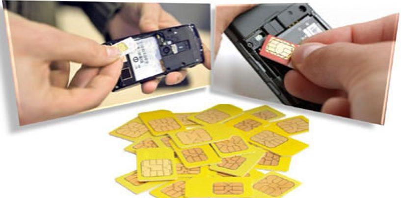 Românii ar putea fi obligati să-şi dea datele de identificare pentru cartelele pre-pay
