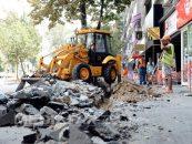 La Negrești Oaș se modernizează infrastructura orașului (P)