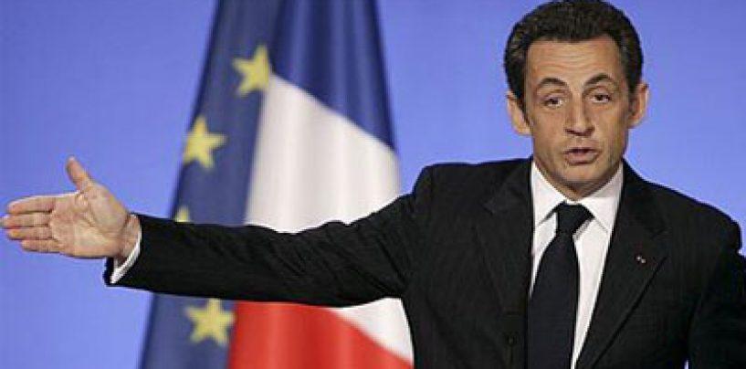 Nicolas Sarkozy a fost inculpat pentru coruptie activa şi trafic de influenta