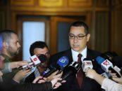 Victor Ponta: Nu e normal ca in functie de toanele lui Basescu sa apara in public stenograme ale unor discutii la Cotroceni
