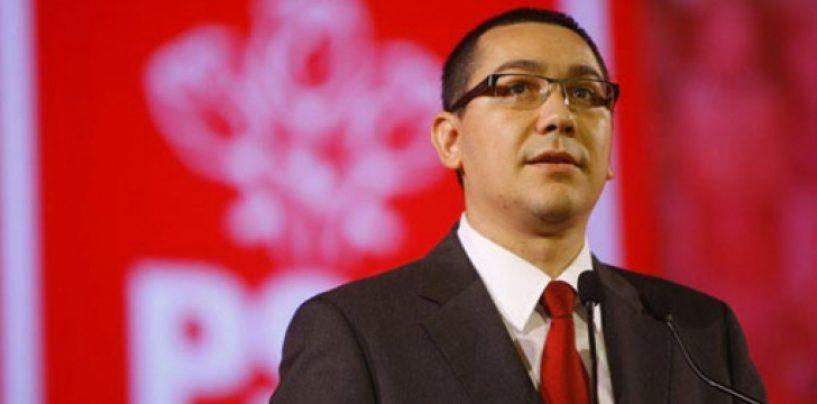 Este oficial! Victor Ponta a anuntat ca va candida la prezidentiale