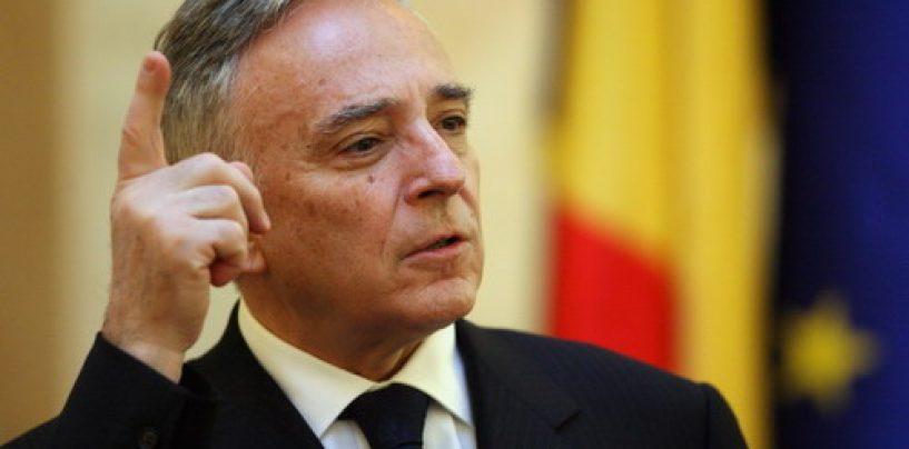 Mugur Isarescu: Romania intra in spatiul euro numai dupa ce autostrada va trece Carpatii