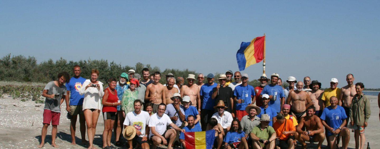 Dunărea străbătută în cel mai lung traseu cu ambarcaţiuni cu vâsle