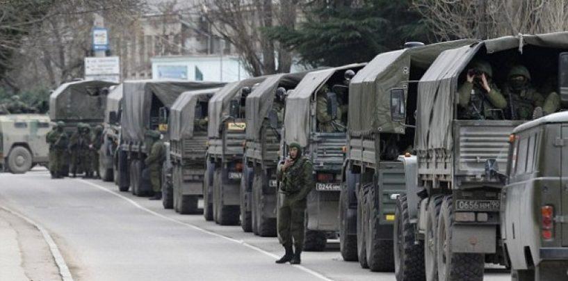 Trupele rusesti ocupa incet dar sigur estul Ucrainei. Occidentul nu reactioneaza in nici un fel