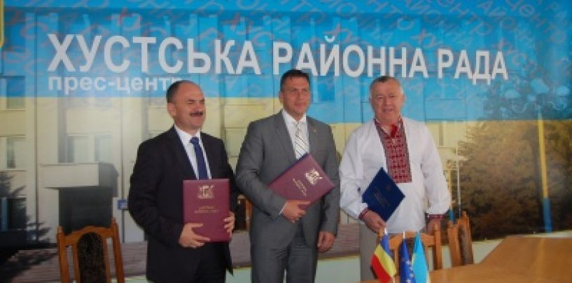 Judetul Satu Mare se infrateste cu cu raionul Vinogradov din Transcarpatia