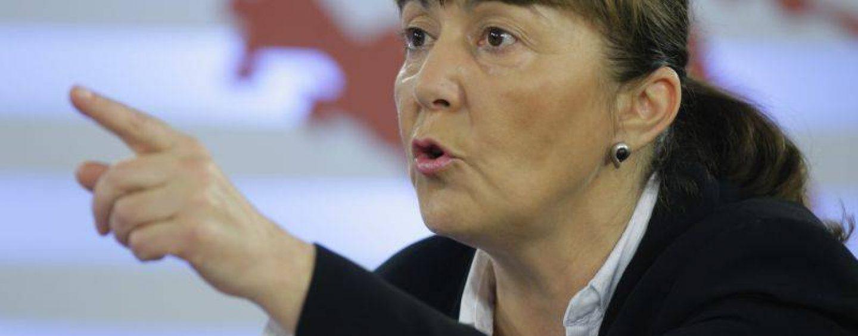 Monica Macovei: Si David l-a invins pe Goliat. Ea si-a lansat candidatura la prezidentiale