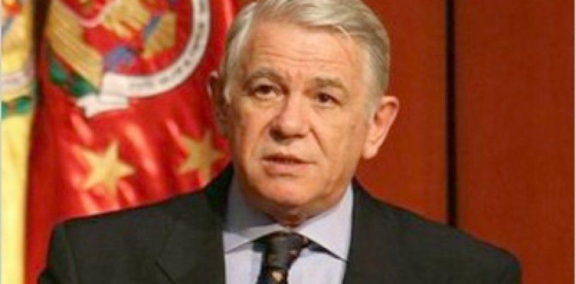 Tedodor Melescanu si-a dat demisia de la SIE. El va candida la alegerile prezidentiale