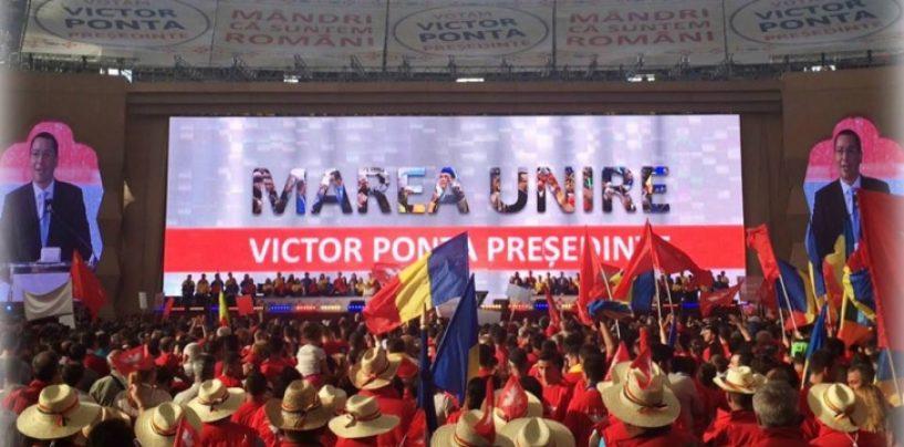 Sunt Victor Viorel Ponta. Sa fim impreuna pentru marea unire a romanilor