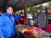 De campanie/ Echipa lui Calin Popescu Tariceanu, pe teren, in Tinutul Satmarului