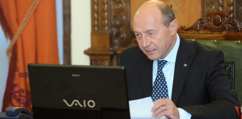 Băsescu, despre UDREA la Paris: Este clara implicarea serviciilor secrete în jocuri politice