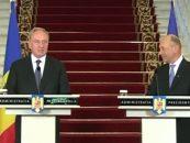 Traian Băsescu vrea să depună cerere pentru dobândirea cetăţeniei Republicii Moldova