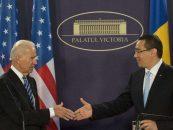 Victor Ponta a discutat cu Biden despre parteneriatul strategic şi securitate