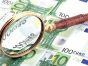 Euro a testat luni pragul de 4,48 lei, cotatia medie calculata de BNR la pranz fiind de 4,477 lei/euro