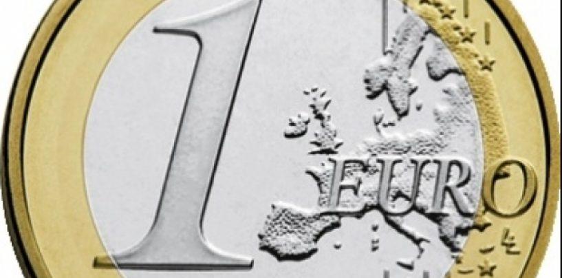 CURS EURO: Leul s-a apreciat faţă de moneda europeană