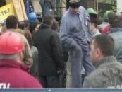 Protest spontan la Combinatul Chimic din Turnu-Severin