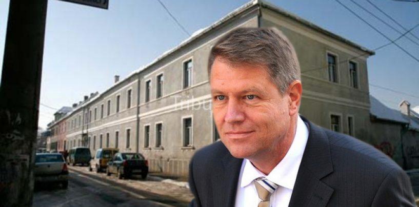 Reteaua samsarilor imobiliari din Sibiu. Cum a retrocedat Klaus Iohannis caminul de batrani din strada George Cosbuc