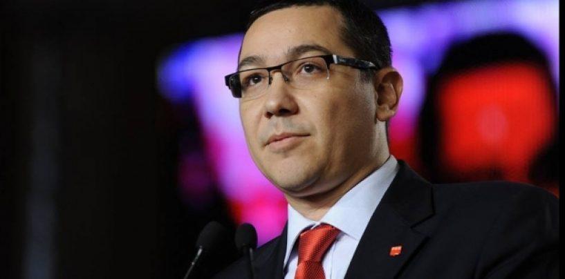"Victor Ponta: PSD nu e un partid pe care un lider il ""lasa"" celorlalti"