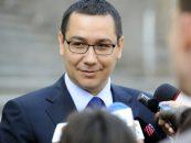 Victor Ponta merge vineri într-o vizită în Republica Moldova
