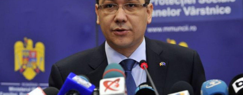 Victor Ponta: Nu e bine să fii prieten cu cel care a vrut AMPRENTAREA românilor