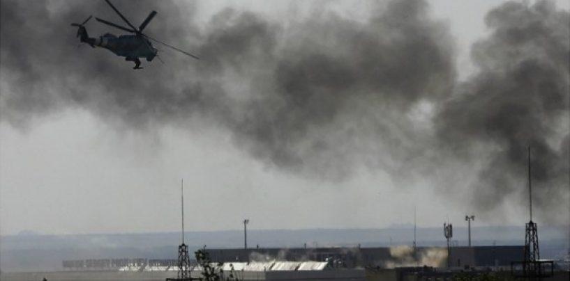 Confruntările de la Doneţk s-au soldat cu un civil ucis şi 5 raniţi