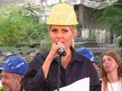 Elena Udrea s-a lansat în campania pentru prezidenţiale într-o fostă Uzină din Bucureşti