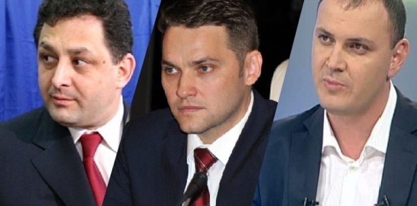 Vanghelie, Ghiţă şi Şova s-au autosuspendat din funcţiile din PSD
