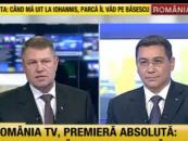 Klaus Iohannis a fost dominat în dezbatere de Victor Ponta