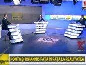Ponta i-a cerut lui Iohannis să îşi prezinte scuzele faţă de soţia sa, Daciana