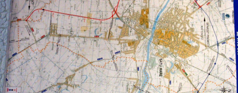 Proiect amplu de infrastructura in NV tarii: centura judetului Satu Mare