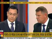 SONDAJ CSCI: Victor Ponta, pe primul loc şi în a doua confruntare