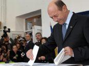 Traian Basescu: Am votat impotriva unui regim discretionar