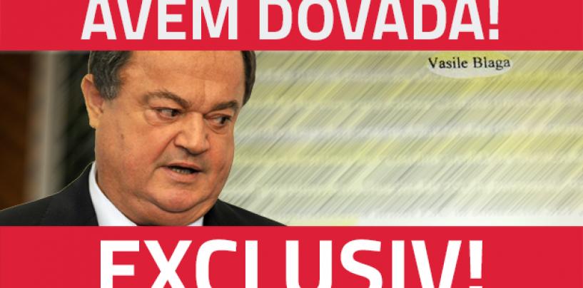 Au aparut DOCUMENTE care îl incriminează pe Vasile Blaga: Ar fi luat mită 80.000 de euro în dosarul EADS
