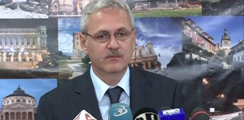 Liviu Dragnea: Iohannis este un om întârziat. Îi e frică!