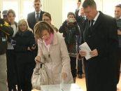 Klaus Iohannis: Am votat pentru o Romanie a prosperitatii